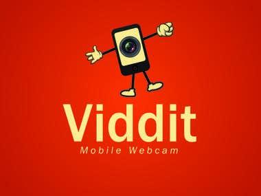 Viddit Logo Design