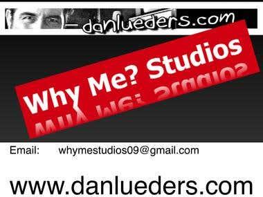 Why Me? Studios & danlueders.com