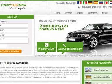 Luxury Cabs India