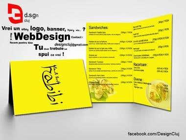 Design Menu Fast Food Habibi