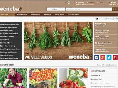 Weneba.com - eCommerce built on Magento