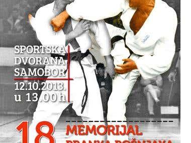 Kyokushin poster, t-shirt