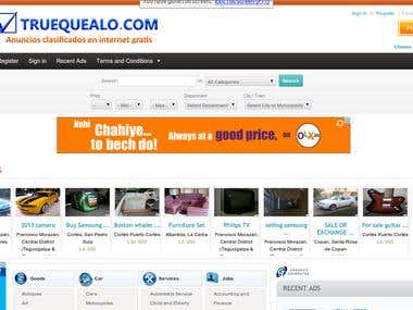 Showcase for Dealers integration with Oxyclassifieds site