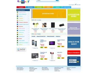 e-Commerce website - easybuy.in