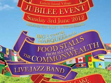 Jubilee event flyer