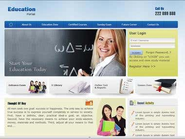 An Education portal