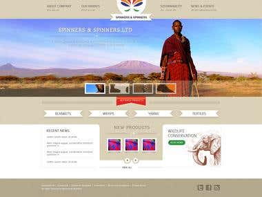 Corporate Website - Content Management Website