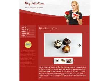 Valentines ebay listing design