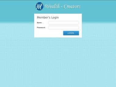 CMS Backend - Financial website