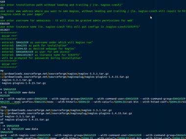 Nagios Install Script