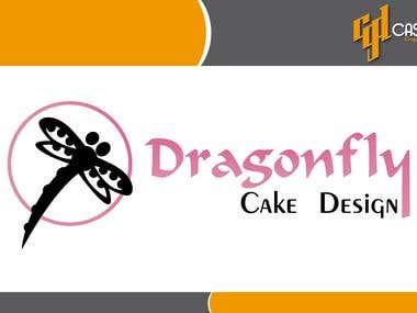 Dragonfly Cake Design