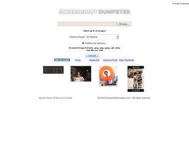 Screenshot Dumpster