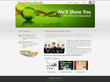 AccipterSoft - Company presentation