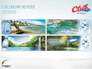 Calendar Header Design