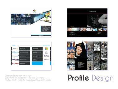 Company Profile Designs