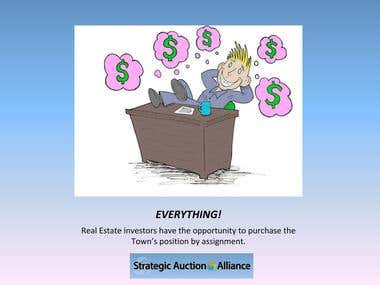 CARTOON FOR STRATEGIC AUCTION ALLIANCE