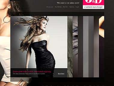 web site related to product and ecommerce