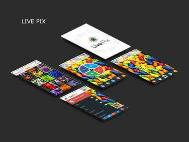 Live Pixx iPhone app