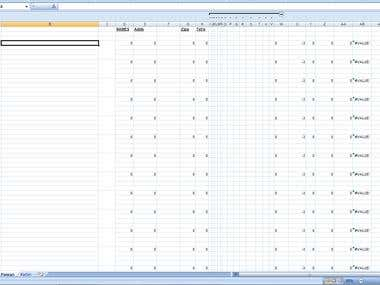 Data Analysis (MS Excel)