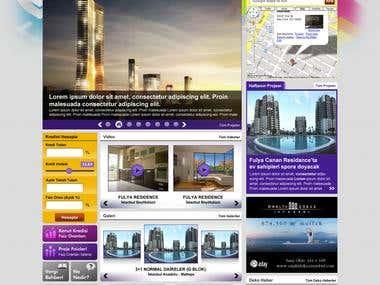 HTEmlak Web Site