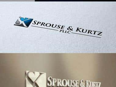 Logo Design for Sprouse & Kurtz, PLLC
