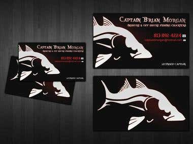 Creation of Business card