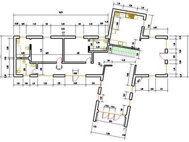 2 Floor House Rendering