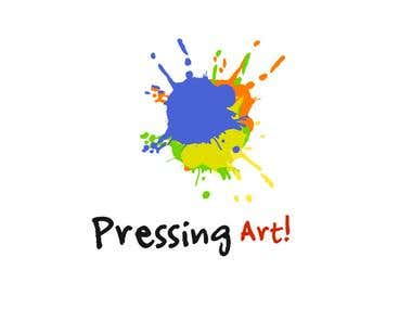 Logo for pressing art