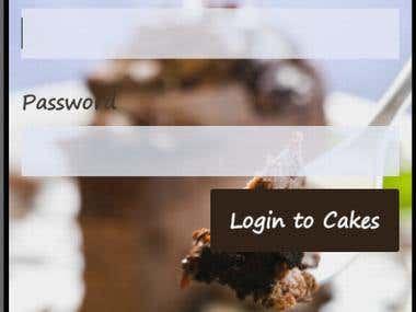 Cakes-Freelancer app for cakes lovers