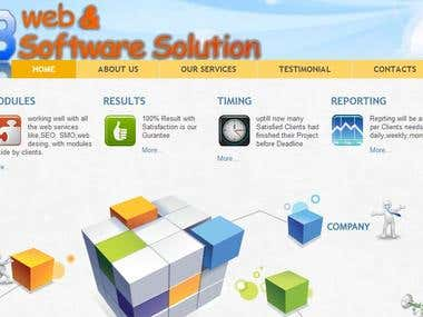 VB Web Solution Site