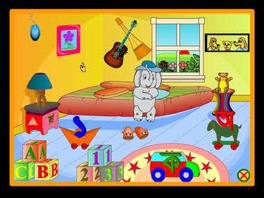 Multimedia Software for Pre school student.
