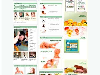 Healthure- web portal for healthy lifestyle