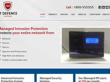 IT Defence Systems website