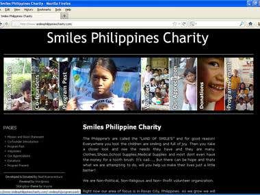 Wordpress Website for Charity