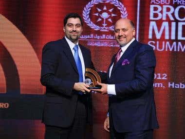 Kahhaleh, Named Outstanding Achiever in Broadcast Technology