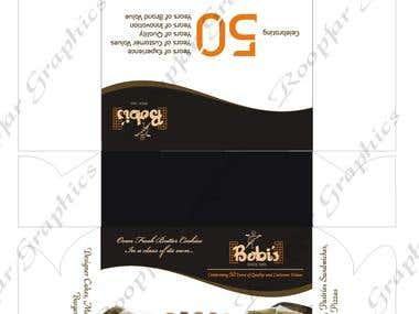 Packaging design..