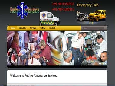 Pushpa ambulance