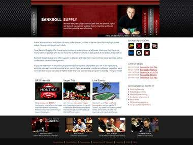 Bankroll Supply Website