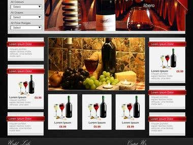 Great Wines Web Site