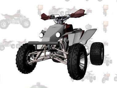 3d atv design