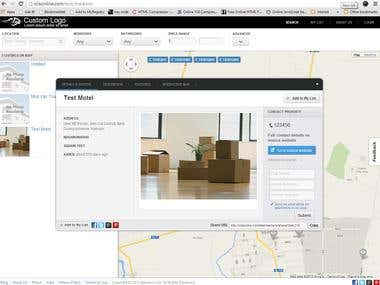 Property Directory with Map