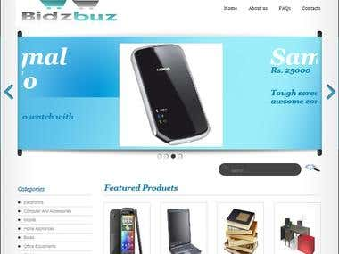 Bidzbuz Online Auction Website