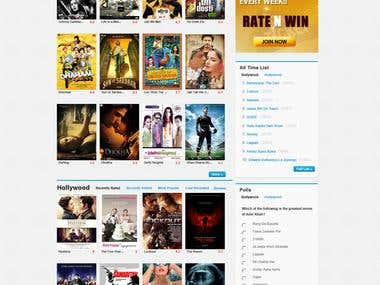 Movie Ratings and Review website
