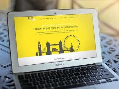 Yellow & Grey Flat Design