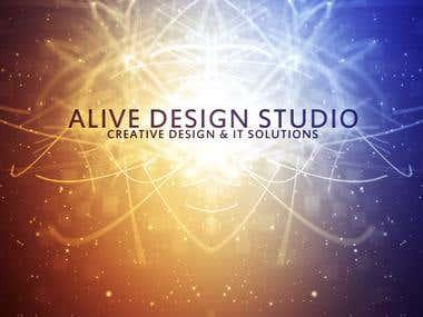 alive design studio logo