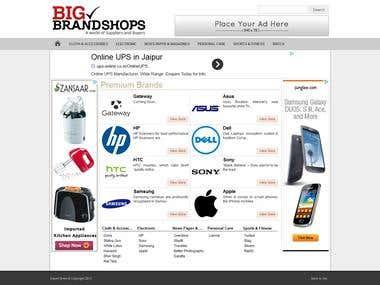 Big Brand Shops