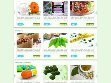 Web design and Development for Good Health Biotech