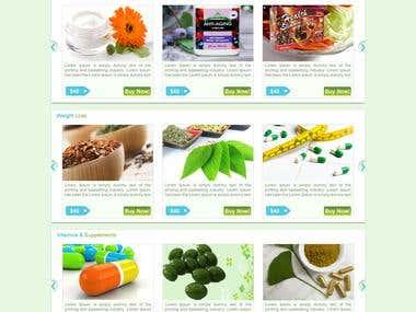 Web design and Development for Good Health Biotech