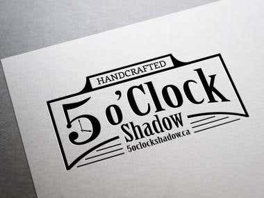 Logo for 5 o'Clock Shadow