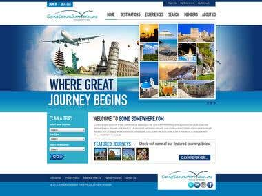 A Travel Related site design